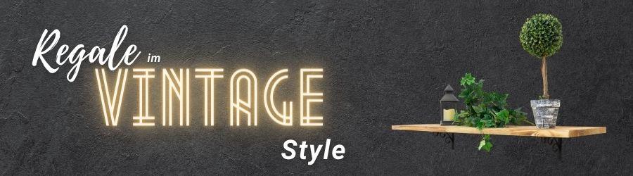 Regale Vintage Landingpage