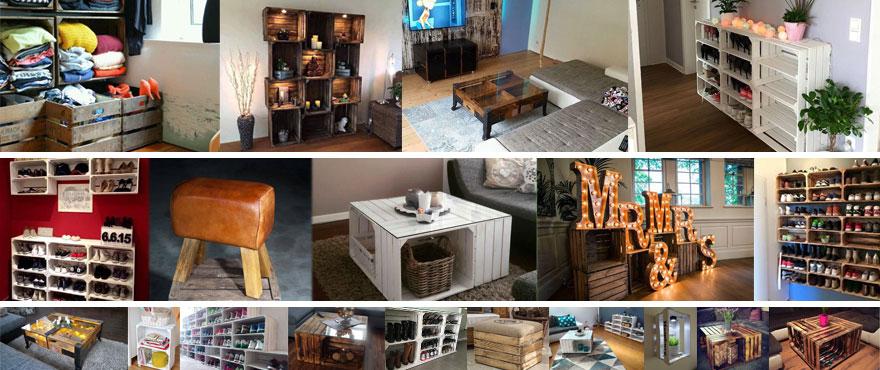 Einfach eine tolle Auswahl an Möbeln aus den Bereich Vintage, DIY und ...