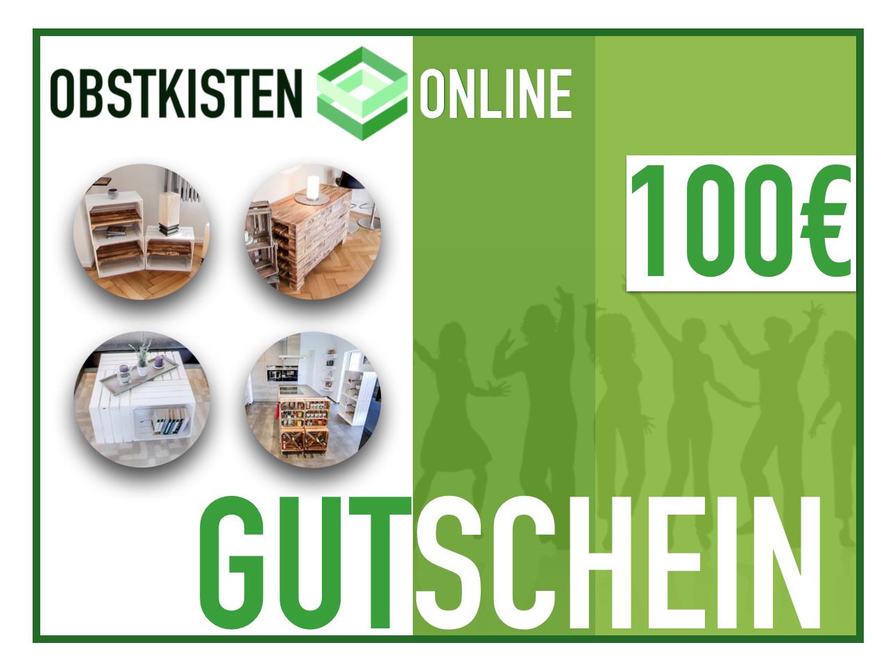 Geschenk-Gutschein 100€