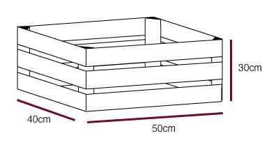 obstkisten sortiment neue helle apfelkiste 50x40x30cm obstkisten. Black Bedroom Furniture Sets. Home Design Ideas