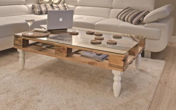 palettenm bel sch ner shabby chic couchtisch. Black Bedroom Furniture Sets. Home Design Ideas
