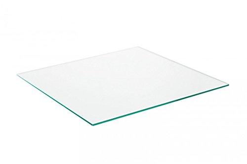Glasplatte für Industrial Tisch - Glasklar 106x85cm