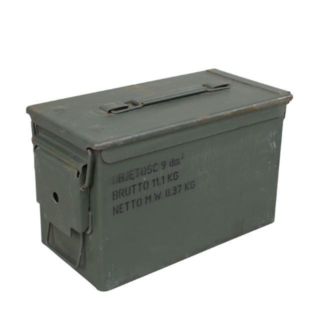 kleine Munitionskiste Metall 4API Aufbewahrungskiste 30,5x19x15,50 cm