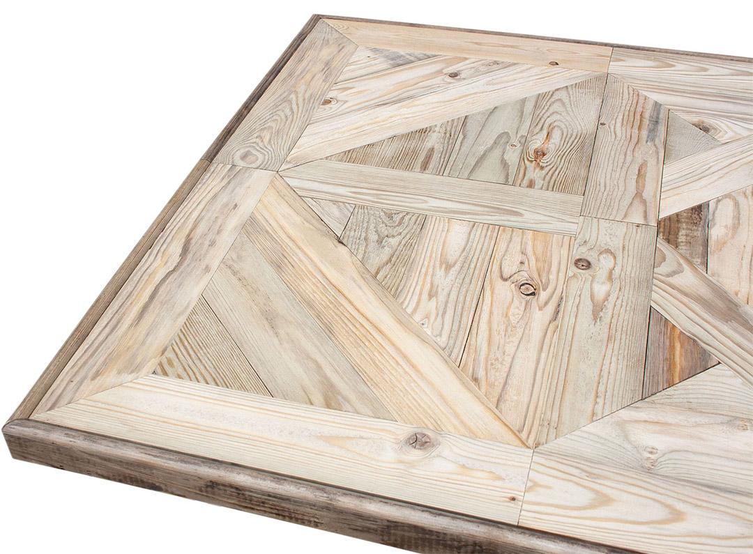 Tischplatte aus alten Apfelsteigen *handmade* 110x73cm