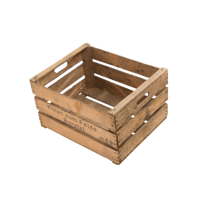 Bundesformat Kiste mit Leiste 49x39x28cm