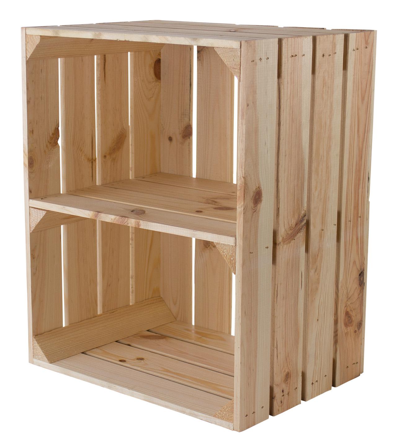 Kiste für Schuh- und Bücherregal