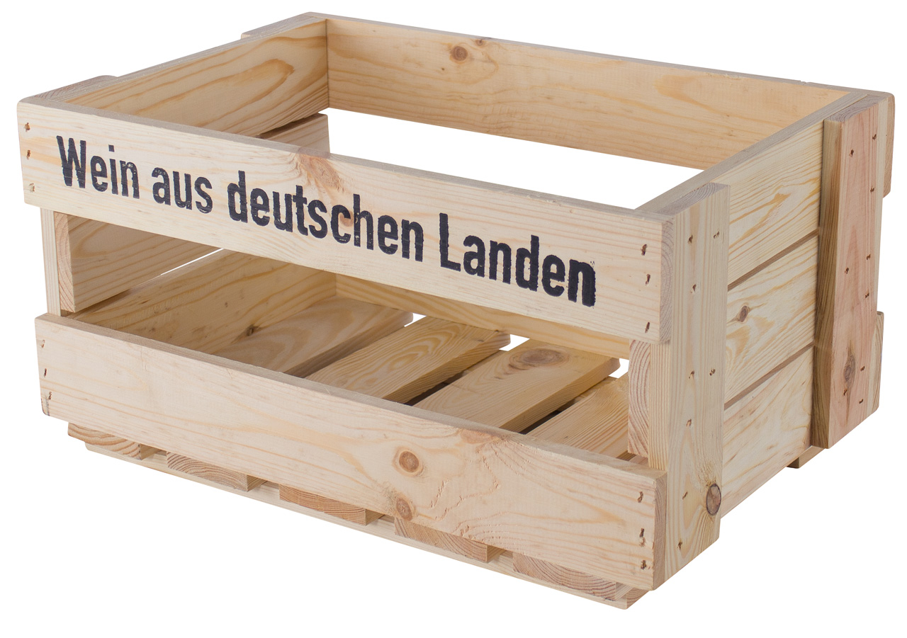 Neue Weinkiste - Wein aus deutschen Landen 46x30,5x24cm