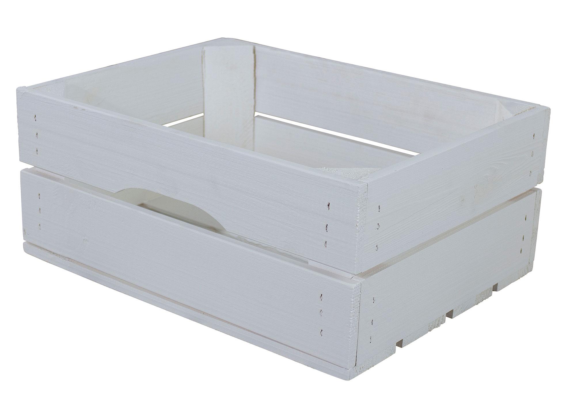 Kleine weiße Schublade 37x29x15,7cm