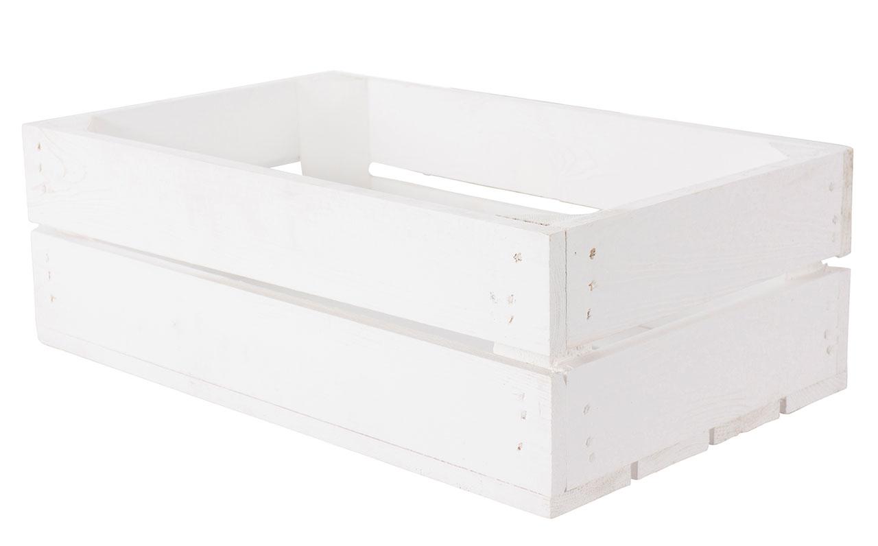 Weiße Schublade 47x29x15,7cm