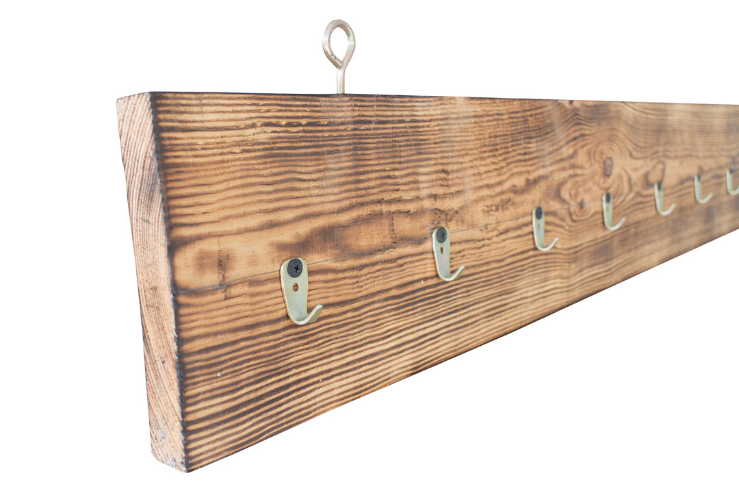 restposten m bel vintage garderobe aus palettenholz 130x18x3cm obstkisten. Black Bedroom Furniture Sets. Home Design Ideas