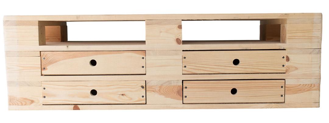 kommode aus paletten swalif. Black Bedroom Furniture Sets. Home Design Ideas