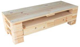 TV Lowboard aus Palettenholz 120x47x44cm