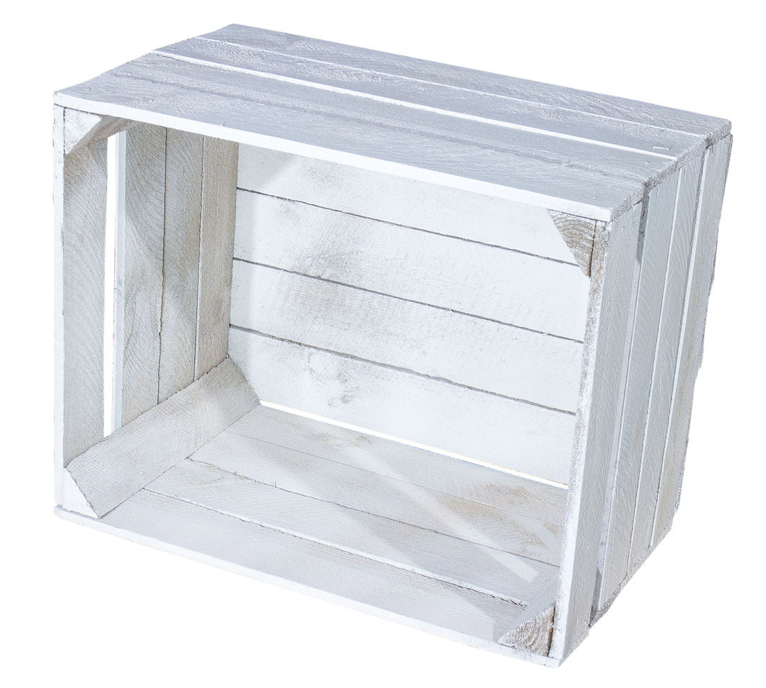 3er set shabby chic vintage holzkiste obstkiste apfelkiste 50x40x30cm ebay. Black Bedroom Furniture Sets. Home Design Ideas