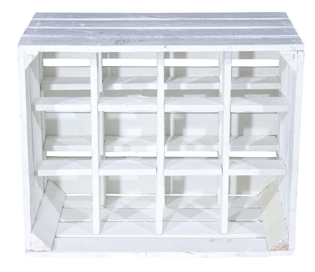 farbige kisten neue wei e apfelkiste als flaschenregal 50x40x30cm obstkisten. Black Bedroom Furniture Sets. Home Design Ideas