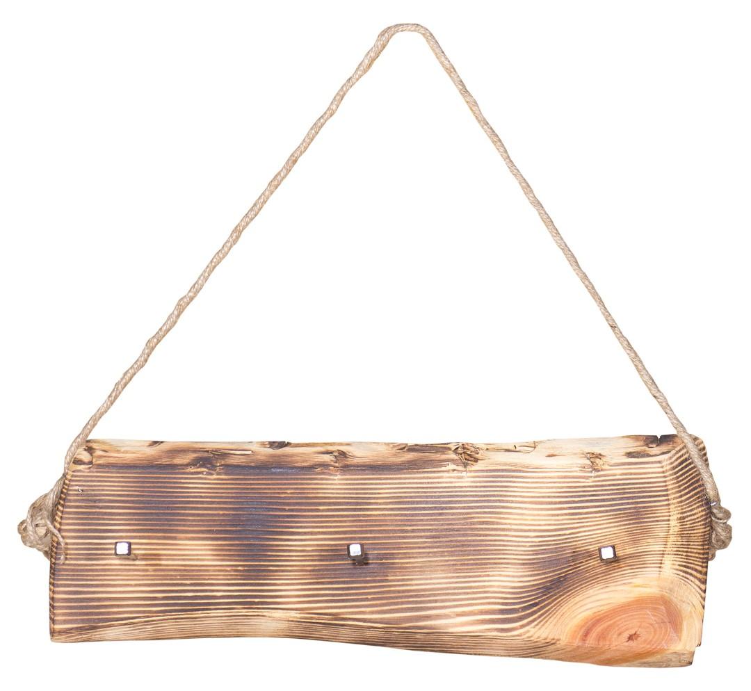 Schlüsselbrett - Geflammt mit Kordel ca. 40x18cm