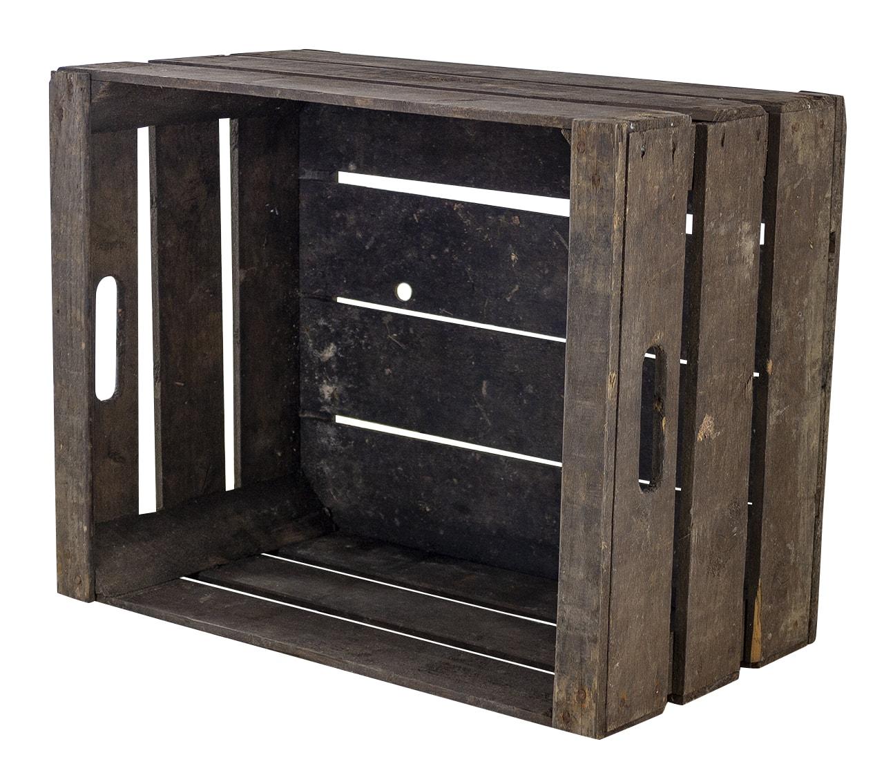 /// B-Ware /// Bundesformat Kiste mit Leiste 49x39x28cm