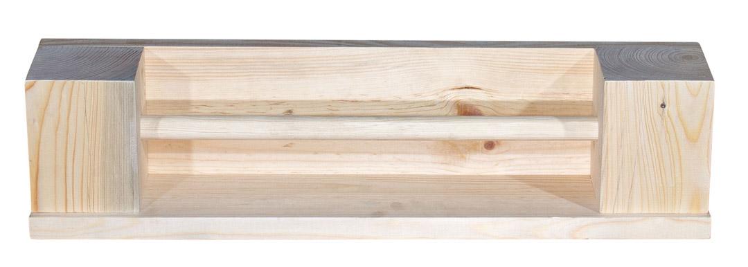 Handtuchhalter aus Eichenholz 67x16x13cm