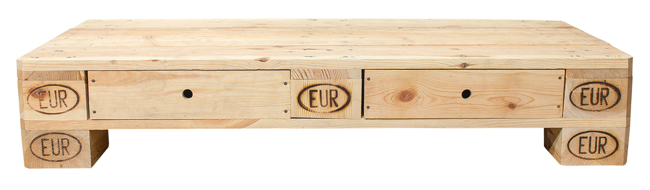 palettenregal tv lowboard aus palettenholz 120x50x22cm obstkisten. Black Bedroom Furniture Sets. Home Design Ideas
