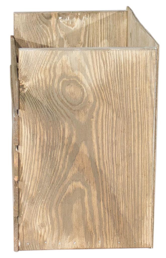 obstkisten halbe used look apfelkiste mit r ckwand als b cherregal 40x20x29 5cm obstkisten. Black Bedroom Furniture Sets. Home Design Ideas
