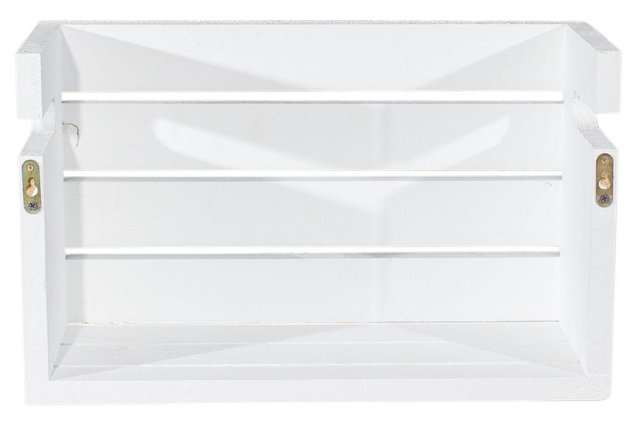 wei wei e halbe apfelkiste als b cherregal 50x20x30cm obstkisten deutschlands. Black Bedroom Furniture Sets. Home Design Ideas