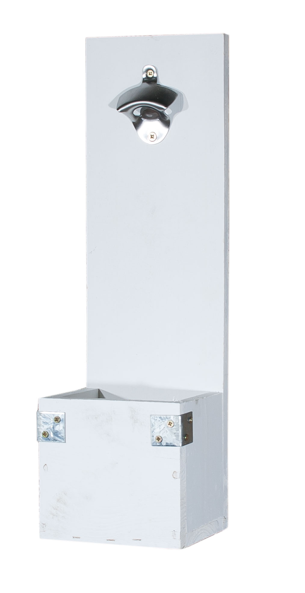 Wand-Flaschenöffner - Shabby Chic Optik 50x15x13cm