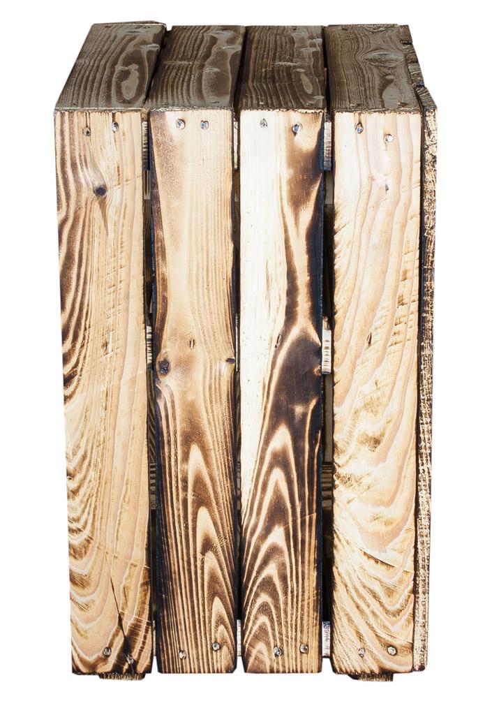 sparpakete 2er set nachttisch mit boden in geflammt 30 5x40x54cm obstkisten. Black Bedroom Furniture Sets. Home Design Ideas