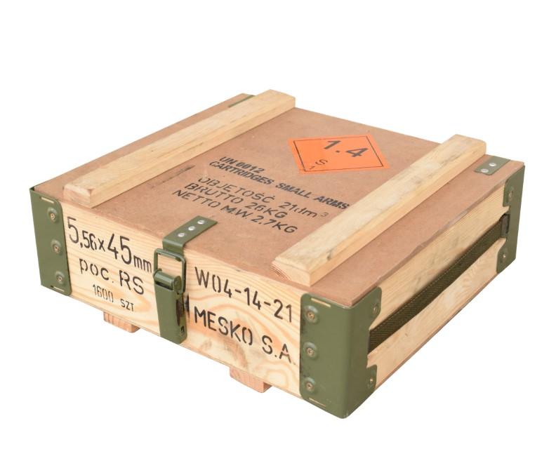kleine Munitionskiste RG-42 40x36x14cm