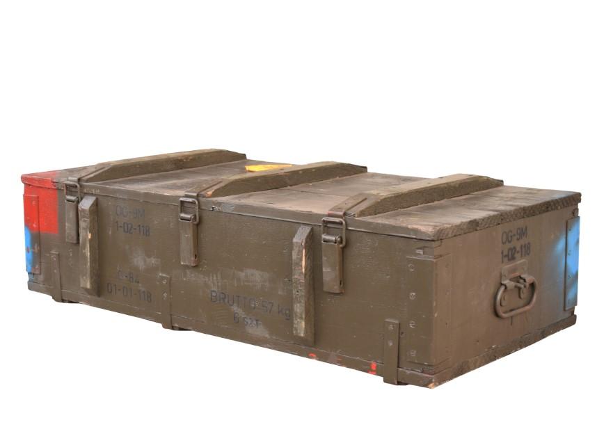 Munitionskiste Typ PG-15 103x48x21