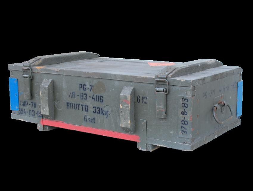 Munitionskiste Typ PG-7 80x42x24cm