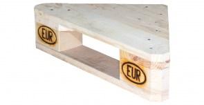 alle m bel eckregal aus palettenholz 60x44x14 5cm obstkisten. Black Bedroom Furniture Sets. Home Design Ideas