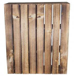 alle holzkisten schreibtisch unterbau aus geflammten holzkisten rechts 74x65x35cm. Black Bedroom Furniture Sets. Home Design Ideas