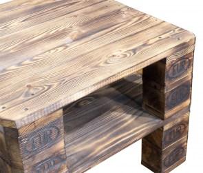 palettenregal vinterior couchtisch aus geflammten palettenholz 65x65x49cm obstkisten online. Black Bedroom Furniture Sets. Home Design Ideas