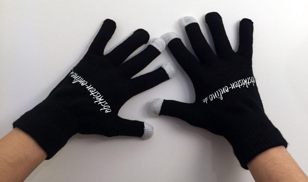 Touchscreen-Handschuhe - Unisex - Obstkisten-Online.de