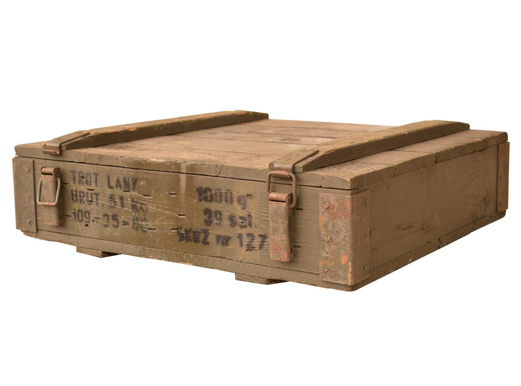 Kleine Munitionskiste 63x56,5x17,5cm