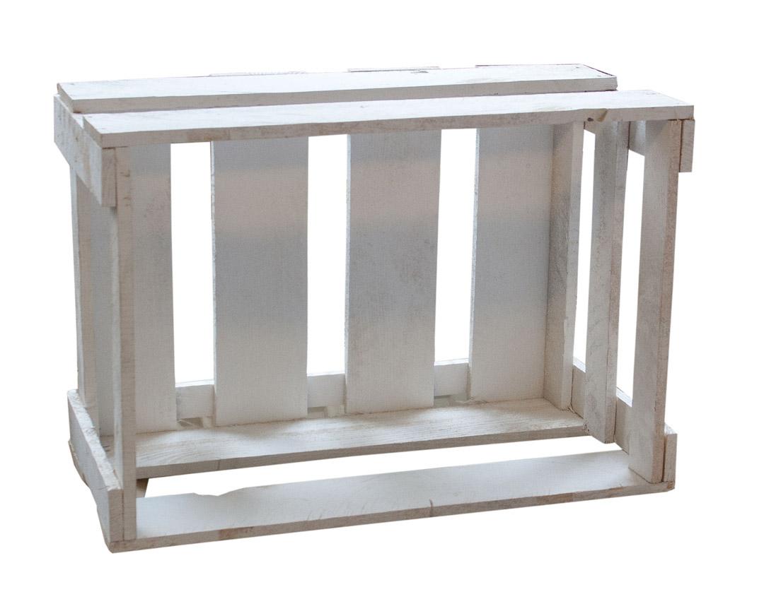 holzkisten wei e weinkiste mit aufdruck hamburg 46x30 5x24cm obstkisten. Black Bedroom Furniture Sets. Home Design Ideas